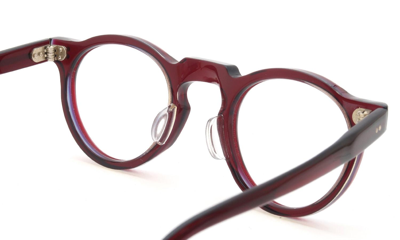 眼鏡の鼻あて・パット交換 Lesca_vintage Crown-Panto 6mm W.B.Y. sand 後