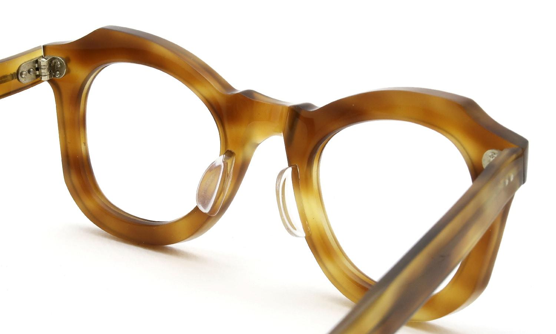 眼鏡の鼻あて・パット交換 Lesca_vintage BUTTERFLY Light-Demi v1 裏