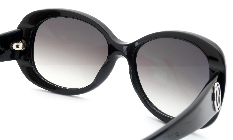 眼鏡の鼻あて・パット交換 Cartier 5203251 BLACK 前