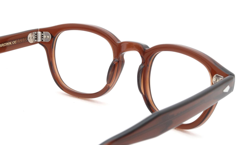 眼鏡の鼻あて・パット交換 MOSCOT LEMTOSH BROWN 前