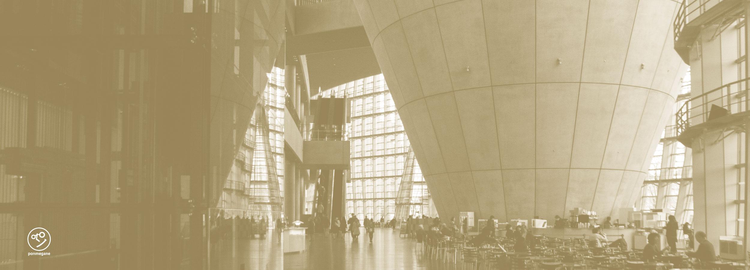 ルーヴル美術館展 ポンメガネ in 国立新美術館 エントランスイメージ