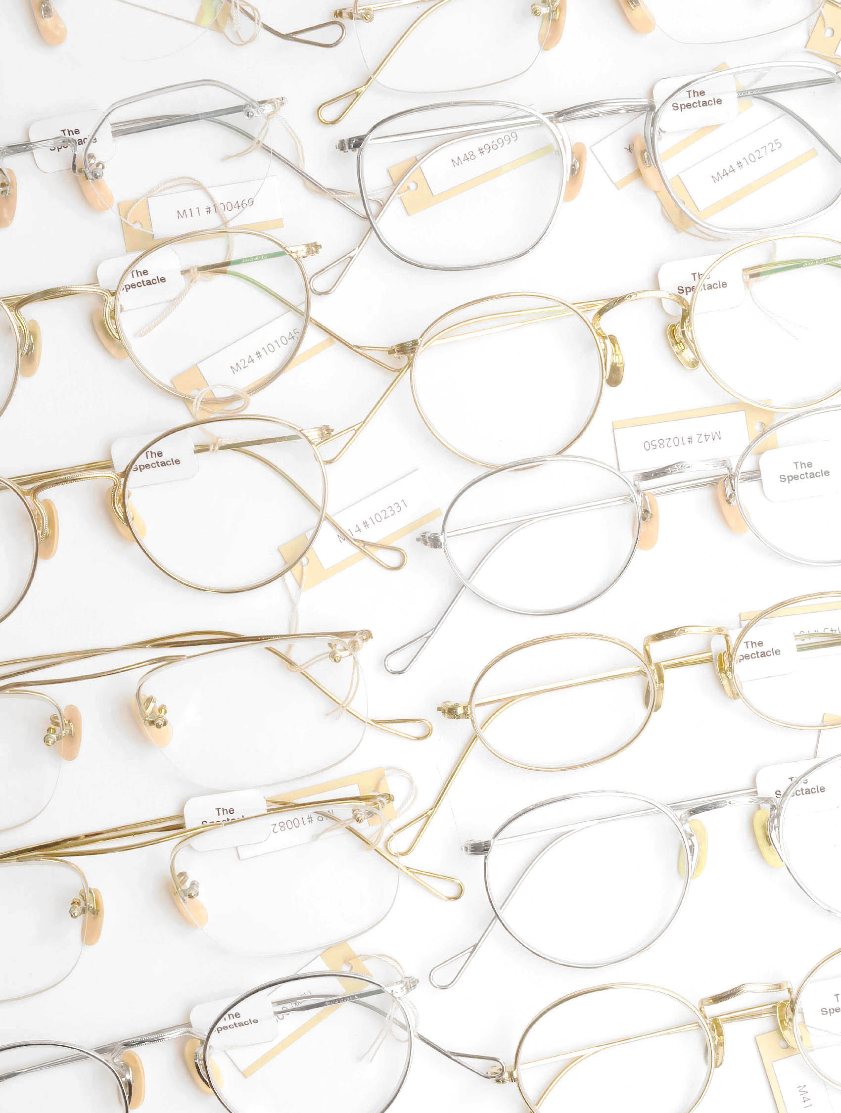 The Spectacle Middle-size 1920s-1940s Gold-Filled-Frame
