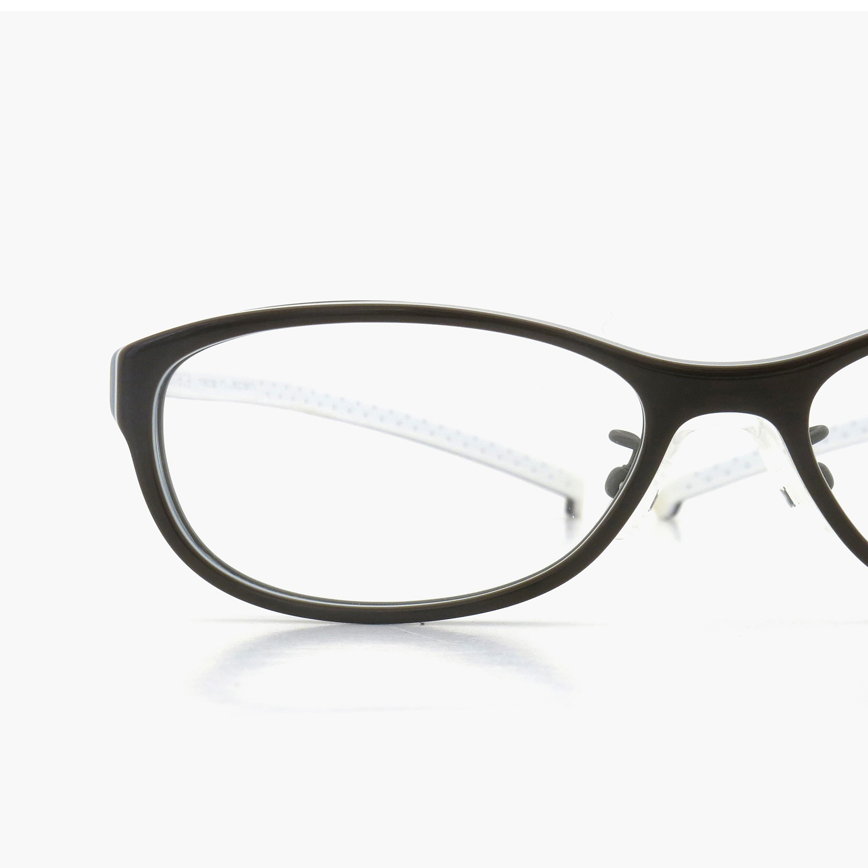 装用感が抜群の折り畳めないメガネ spec espace ES-7086K