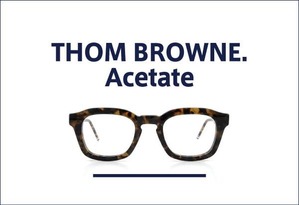 THOM BROWNE. アセテートフレーム