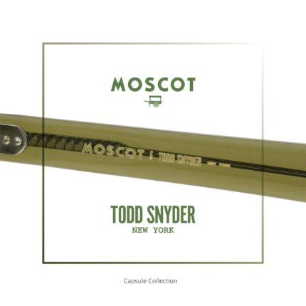TODD SNYDER×MOSCOT トッド スナイダー×モスコット カプセルコレクション